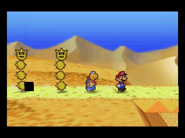 Paper Mario - Location  - Look who joined my gang - User Screenshot